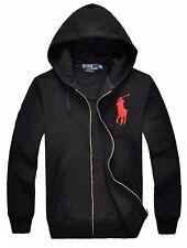 *NWT - Men's RALPH LAUREN POLO Big Pony Full Zip Hoodie Jacket : Small - XXL