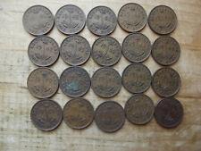 20x Newfoundland SMALL 1 CENTS LOT 31-C