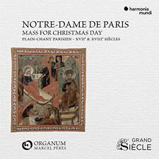Ensemble Organum - ecole De Notre-Dame: Mass For The Nativity Of The Virgin [CD]
