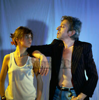 PHOTO Charlotte & SERGE GAINSBOURG  N°276-05   -  FORMAT - 20x20cm
