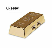 4-Port Hi-Speed USB 2.0 Fun Desktop Gold Bar Hub - Manhattan 161541, UH2-IG04