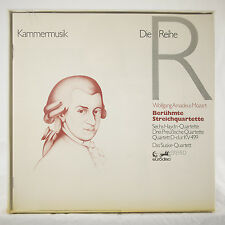 5LP BOX SUSKE-QUARETT MOZART STRING QUARTETS EURODISC 86333 XIK GERMAN 1ST GOLD