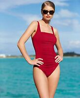 Calvin Klein Swimsuit Bikini One Piece Size 14 Strawberry 50+ UPF si1