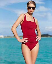 Calvin Klein Swimsuit Bikini One Piece Size 14 Strawberry 50+ UPF si1