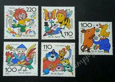 Germany Comics 1998 Cartoon Animation Bee Insect Butterfly Chicken (stamp) MNH