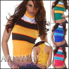 Striped Sleeveless Tops & Blouses for Women