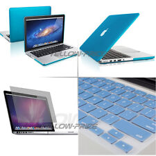 3 in 1 Macbook Pro w/Retina 13 13.3'' Ruberized Hard Case Screen Keyboard Cover