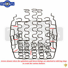 67-69 for GM F Body Bucket Seat LOWER SPRING Bottom Support Assembly - LH = RH