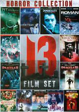 Horror Collection: 13 Film Set (DVD, 2013, 3-Disc Set) Brand New Sealed