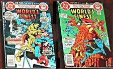 WORLD'S FINEST 274 VFNM 276 VF+ SUPERMAN BATMAN RARE DC