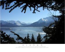 Alaska, Mountain Frame-Color Fine Art Photo-8x10-COA-SIGNED!