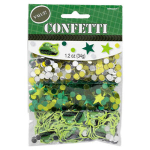 Camouflage Party Confetti Scatters Table Decoration - Camouflage Party Supplies