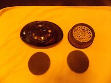 GLOSS BLACK HARLEY AIR CLEANER COVER 12 HOLE 2-WAY-SCREAMIN EAGLE AIR FILTER