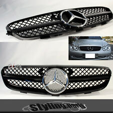 Grille Gloss Black Grille 1- CLUTCH PLATES DESIGN FOR MERCEDES W209 Sports Grill