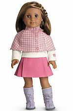 American Girl Doll Cozy Plaid Outfit Skirt Set NEW!! Retired
