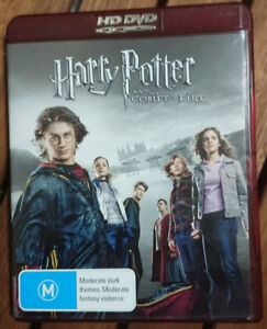 Harry Potter and the Goblet of Fire. HD DVD Reg Free. Daniel Radcliffe.