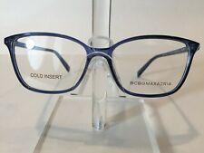 BCBG Maxazria Agatha Women's Plastic Eyeglass Frame Blue 53-15 NEW!