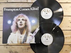 PETER FRAMPTON FRAMPTON COMES ALIVE LP 33T VINYLE EX COVER EX ORIGINAL 1976