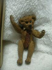 "Boyds Shoe Box Bears Figurine, Augustus ""Gus� Grizberg, #3200, New"