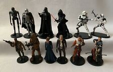 """Lot of 12 STAR WARS Disney Store 4"""" Figures Cake Toppers"""