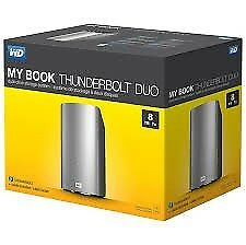 My Book Thunderbolt Duo 8TB