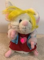 GEMMY RARE DANCING SINGING  Mouse  Girl Want You To Want Me Lighted Heart