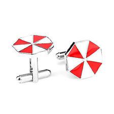 Resident Evil Umbrella Corp Men's Cufflinks Badge Wedding Groom good Cuff Links