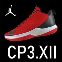 "AIR JORDAN CP3 XII TB ""UNIVERSITY RED"" BLACK CHRIS PAUL FLYKNIT CJ7226-601 11.5"