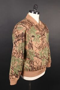 Cabela's Over/Under Wool Fatigue Sweater with WindShear Outfitter Camo Large