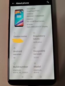 OnePlus 5T A5010 - 128GB - Red Smartphone