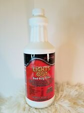 💥Lights Out All Natural Bed Bug Killer Spray Eco-Friendly Non-Tox Organic, 32oz