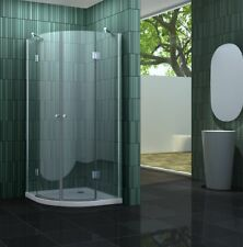 CLARABO 90 x 90 x 180 Glas Duschkabine Dusche Duschwand Duschabtrennung