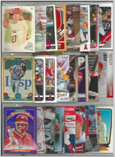 (25) DIFFERENT MIKE TROUT CARD LOT ANGELS