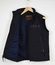 WOOLRICH Men's MEDIUM Nylon Rigid Shell Mesh Lined Waistcoat 31944_JS