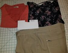 #3012  3 Piece Lot Plus Size 3X  22-24 Lee Rider, Cato & Faded Glory