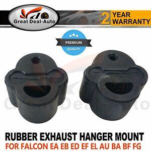 Pair Exhaust Hanger Rubber Mounts for FORD FALCON EA EB ED EF EL AU BA BF FG