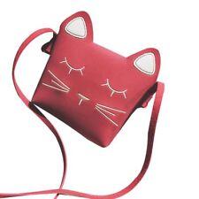 Cute Cat Girls Purse handbag Children Kid Cross-body shoulder bag Christmas G ZC
