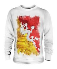 Bhutan Drapeau Grunge Unisexe Pull Druk Yul Football Bhoutanais Cadeau T-Shirt