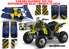 Amr racing décor Graphic Kit ATV yamaha le Hurleur yfz 350 Meltdown B