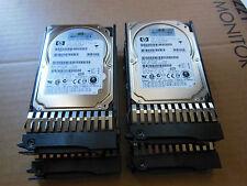 "LOT OF 50 HP DL380 G6 G7 G5 2.5"" CADDIES  with FREE 36Gb SAS 10K  Hard Drive"
