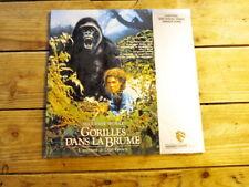 Gorilles dans la brume LASERDISC LD PAL Sigourney Weaver 1988