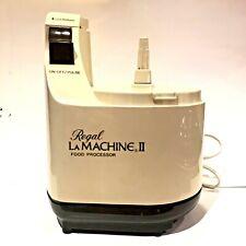 Moulinex Regal LM2 La Machine II Food Processor Replacement Base Motor W/Booklet