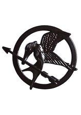 Hunger Games MOCKINGJAY Pin - Rare BLACK Edition - New!