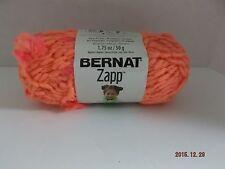"Bernat Zapp Yarn ""Life's A Peach"" #6 Super Bulky 50 grams ~ 54 Yards ~"