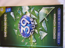 The 39 Clues: One False Note 2 by Gordon Korman (2009, Hardcover)