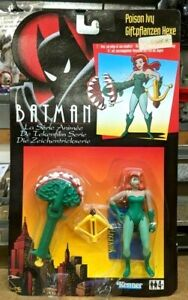 1994 Batman animated series Poison Ivy Kenner German variant new on card NOC