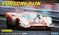 Fujimi 1/24 Scale PORSCHE 917K 1970 Le Mans Winner Car Plastic Model Kit