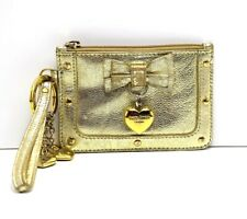 Suzy Smith Coin Purse With Key Ring Gold
