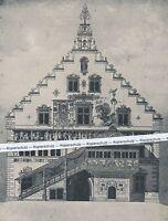 Lindau - Das bemalte Rathaus - Grafik (?) - um 1910    H 22 -21