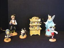 WDCC Disney Classic Collection ~ PINOCCHIO ORNAMENT SET ~ Ltd Ed ~ NIB & COA